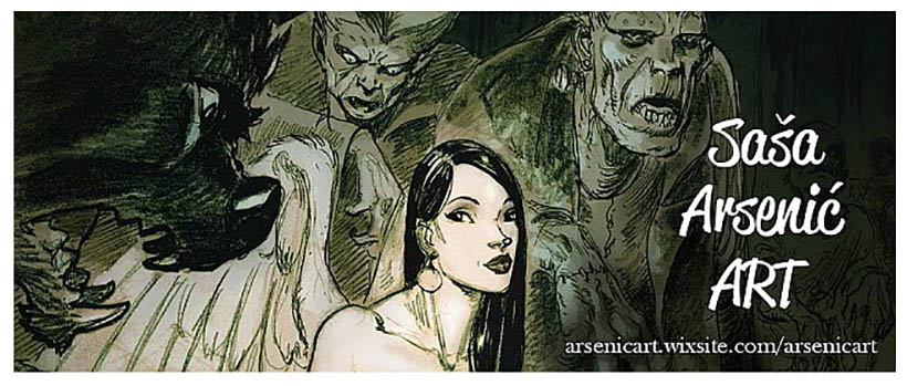 Arsenic art header